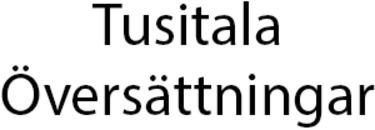 Tusitala Översättningar logo