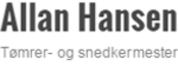 Tømrer- Og Snedkermester Allan Hansen ApS logo
