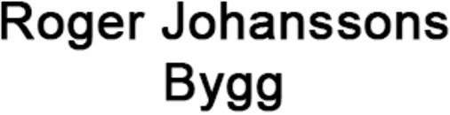 Roger Johanssons Bygg logo