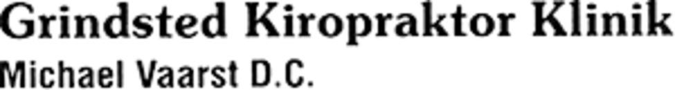 Grindsted Kiropraktor Klinik logo