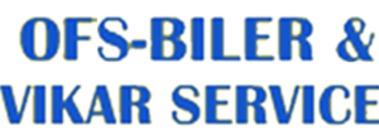 OFS Biler og Vikarservice logo