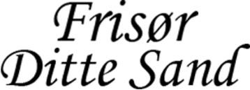 Frisør Ditte Sand logo