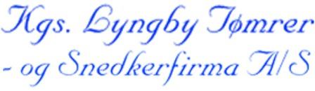 Kgs. Lyngby Tømrer- & Snedkerfirma A/S logo