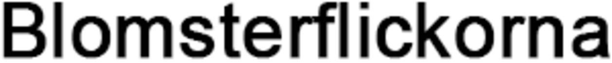 Blomsterflickorna logo