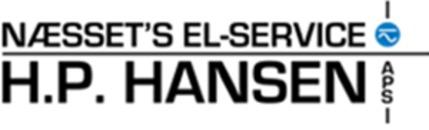 Næsset's El-Service HP Hansen ApS logo