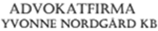 Advokatfirma Yvonne Nordgård KB logo