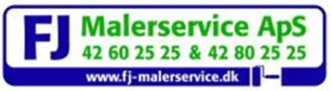 FJ Malerservice ApS logo