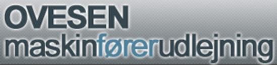 Ovesen Maskinførerudlejning logo