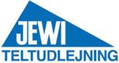 JEWI Teltudlejning logo