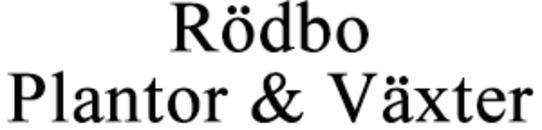 Rödbo Plantor & Växter logo