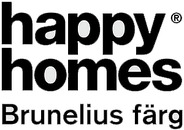 Brunelius Färg, Happy Homes logo