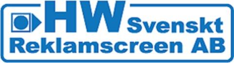 HW Svenskt Reklamscreen AB logo