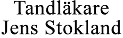 Tandläkare Jens Stokland logo