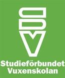 Studieförbundet Vuxenskolan (SV) Stockholm logo