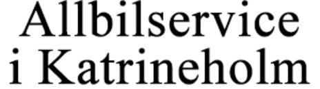 Allbilservice i Katrineholm KB logo