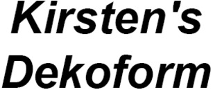 Kirsten's Dekoform logo