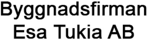 Byggnadsfirman Esa Tukia, AB logo
