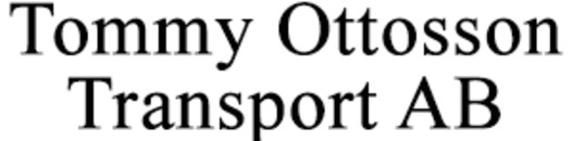 Tommy Ottosson Transport AB logo