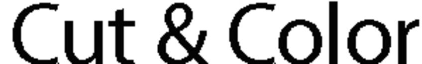 Cut & Color logo