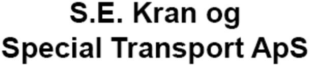 S.E. Kran og Special Transport ApS logo