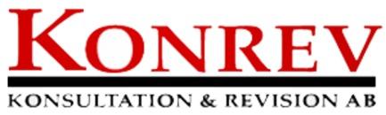 Konrev-Konsultation & Revision AB logo