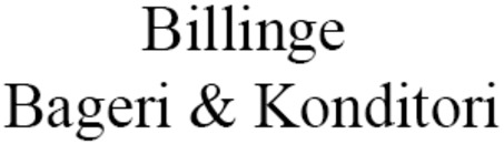 Billinge Bageri & Konditori logo