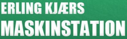 Erling Kjærs Maskinstation logo