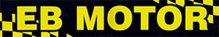 E B Motor AB logo