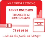 Malerforretning Lenka Knudsen ApS logo