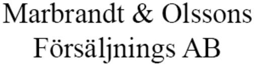 Marbrandt och Olssons Försäljnings AB logo