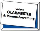 Vojens Glarmester & Rammeforretning logo