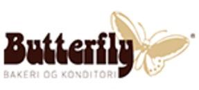 Butterfly Bakeri og konditori avd Christianslund logo
