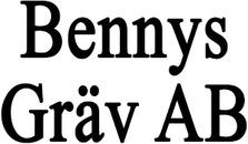 bennys gräv ab logo