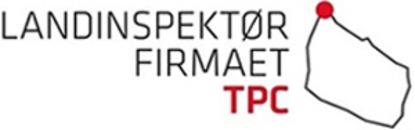 Landinspektørfirmaet TPC logo