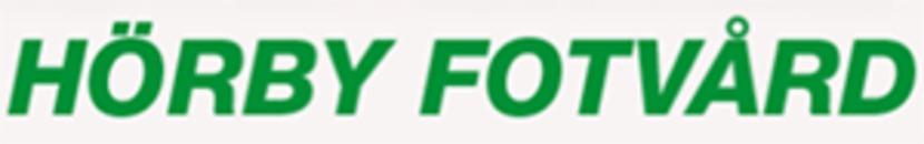 Hörby Fotvård logo