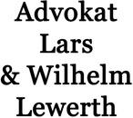 Lewerth Lars och Wilhelm, Advokat logo