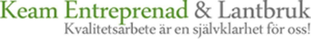Keam Entreprenad o Lantbruk logo