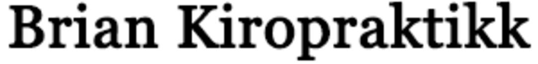 Brian Kiropraktik logo