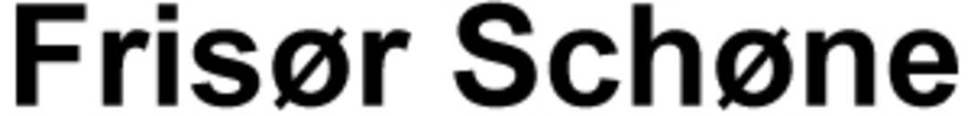 Frisør Schøne logo