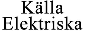 Källa Elektriska logo