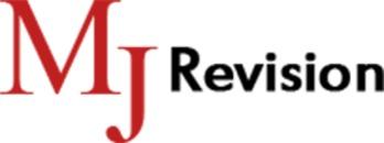 MJ Revision revisor Marianne H. Jensen logo