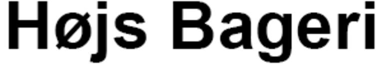 Højs Bageri logo