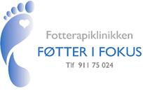 Fotterapiklinikken Føtter i Fokus logo