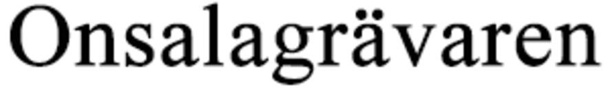 Onsalagrävaren AB logo
