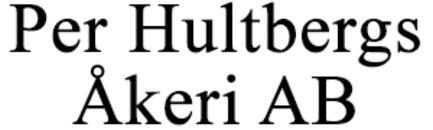 Hultbergs Åkeri AB, Per logo