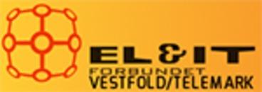El og IT forbundet Vestfold og Telemark logo