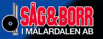 Såg & Borr i Mälardalen AB logo