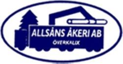 Allsåns Åkeri AB logo