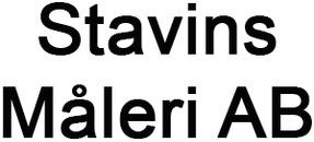 Stavins Måleri AB logo