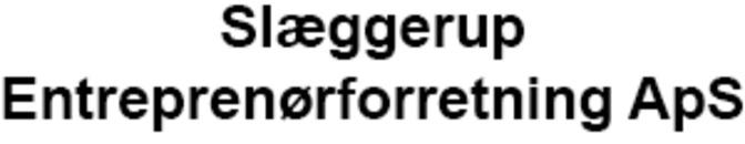 Slæggerup Entreprenørforretning ApS logo